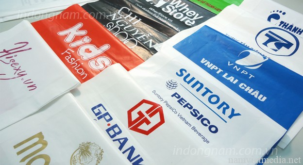 In túi ni lông giá rẻ, in túi nilon miễn phí thiết kế tai TPHCM