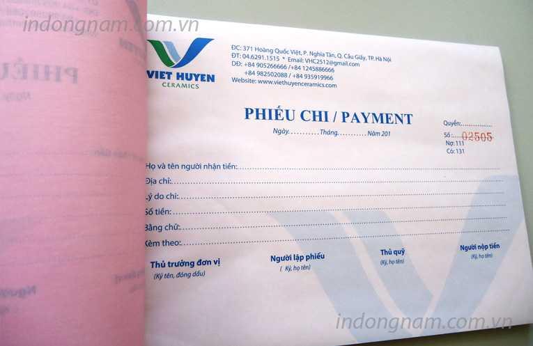 In phiếu xuất kho, in hóa đơn giá rẻ tại TPHCM, in phiếu nhập kho