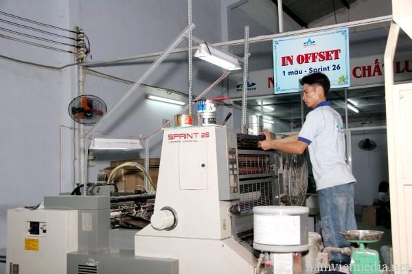 Dịch vụ in nhanh kỹ thuật số, máy in leser, máy in phun