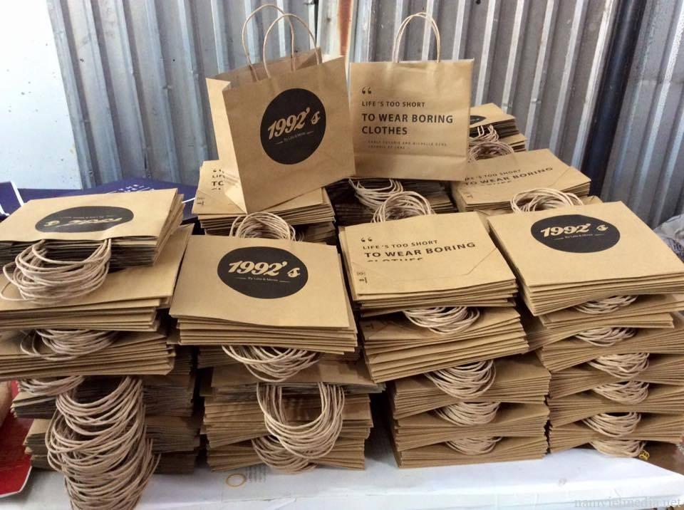 Dịch vụ thiết kế túi giấy, In Túi giấy rẻ đẹp cao cấp
